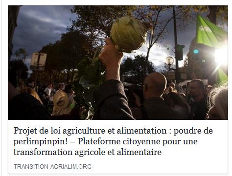 LoiAgriculture